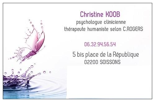 Christine KOOB Psychologue Thrapeute Soissons Aisne